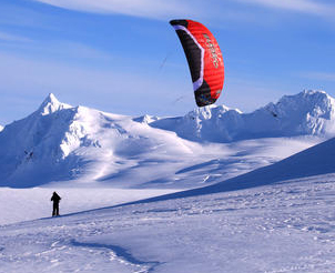 Snow Kiting is a great sport!