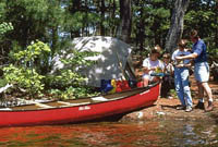 Search for a Canoe Trip