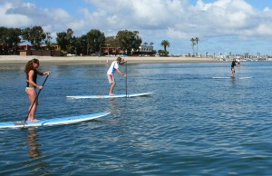 Stand Up Paddling is new
