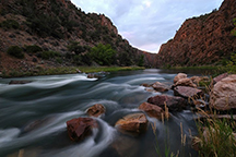Fishing the Black Canyon of the Gunnison River