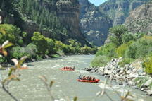 Glenwood Canyon River Rafting
