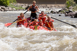 Enjoy a full day rafting on the Colorado River