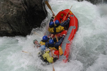 Class 5 Whitewater Rafting